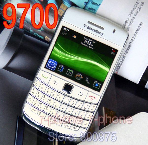 Image 4 - Blackberry original bold 9700 telefone móvel 5mp 3g wifi gps  bluetooth qwerty teclado