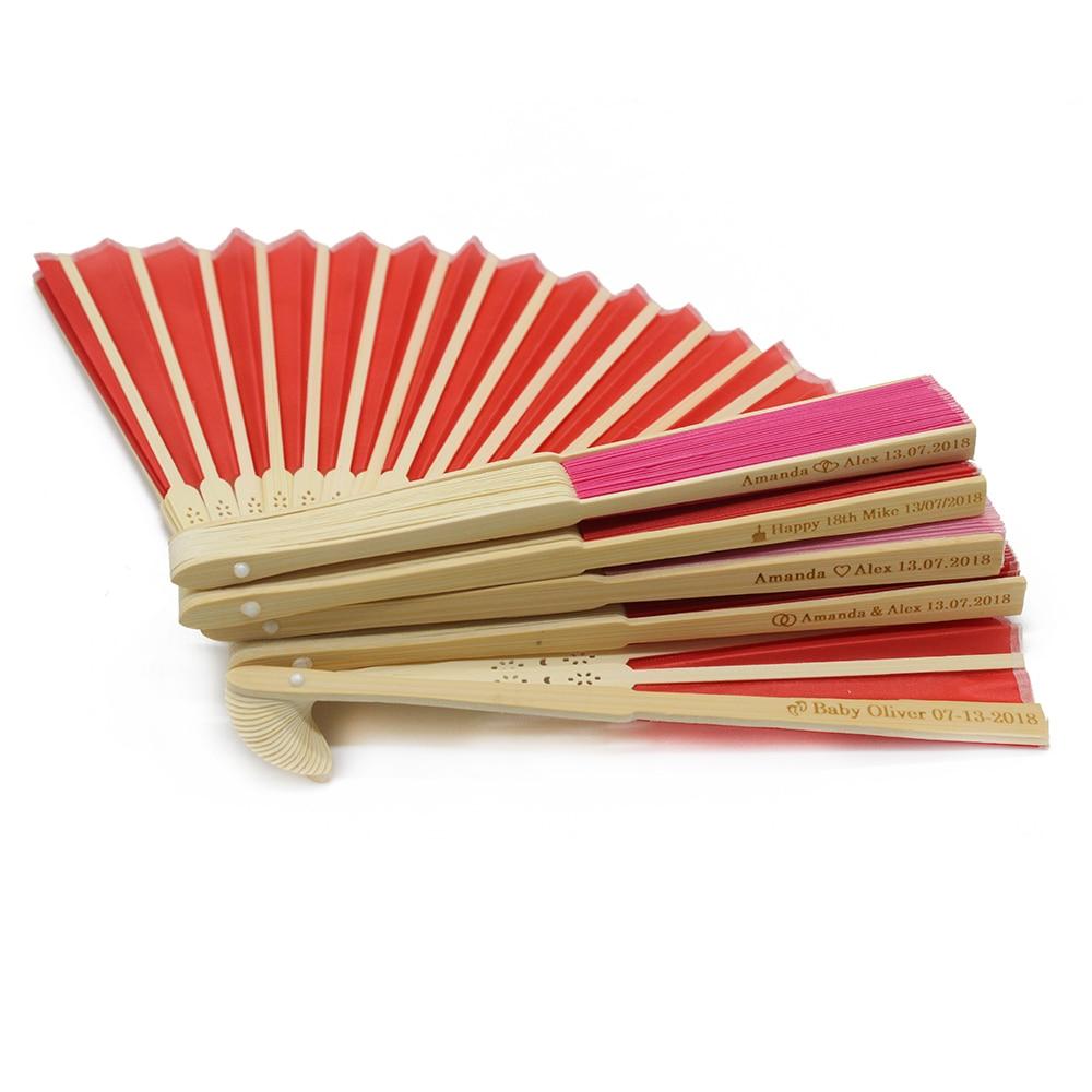 30pcs Personalized Ladies Bamboo