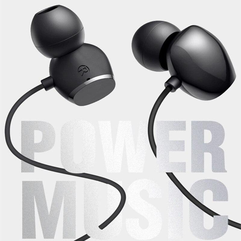 Wired Headphones 3 5mm Volume Control Ear Hook Sport Earphones Music Bass Headset for Xiaomi HUAWEI Samsung Earbuds Comfortable in Phone Earphones Headphones from Consumer Electronics