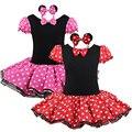 Fancy Cosplay Niños Fiesta de Cumpleaños Regalo de Navidad Niñas Ballet Tutu Dress + Ear Diadema 12M-8Y