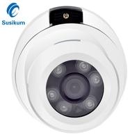 4Megapixel Dome Security CCTV Camera 6Pcs Array Leds Infrared Night Vision Camera AHD Metal Housing Vandalproof 4MP CCTV Camera