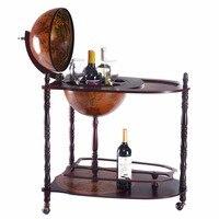 Goplus деревянный винный стеллаж держатель Винтаж 16 века итальянский винный бар стенд 34 H ликер стойка для бутылок Бар держатель для хранения