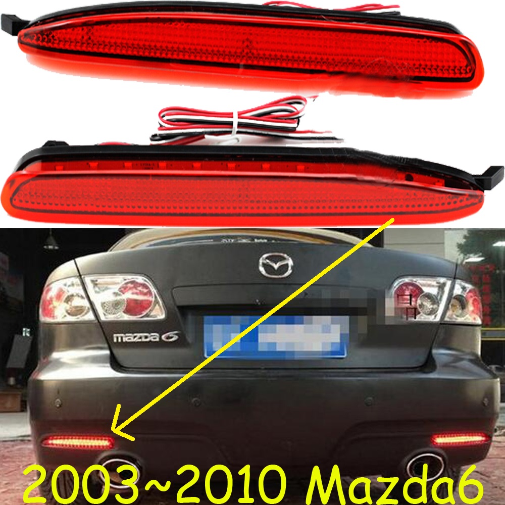Mazd6 breaking light,2003~2010,Free ship!LED,Mazd6 rear light,LED,2pcs/set,Mazd6 taillight;Mazd6,atenza,axela,cx-5 mazd6 atenza taillight sedan car 2014 2016 free ship led 4pcs set atenza rear light atenza fog light mazd 6 atenza axela cx 5