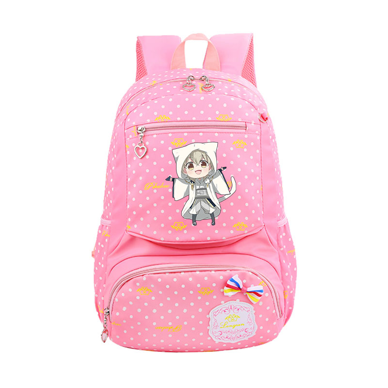 QB  Sword Art Online Backpack Sword Art Online Prevails School Backpack for Teenage Girls Boys School Bags Travel Daypack