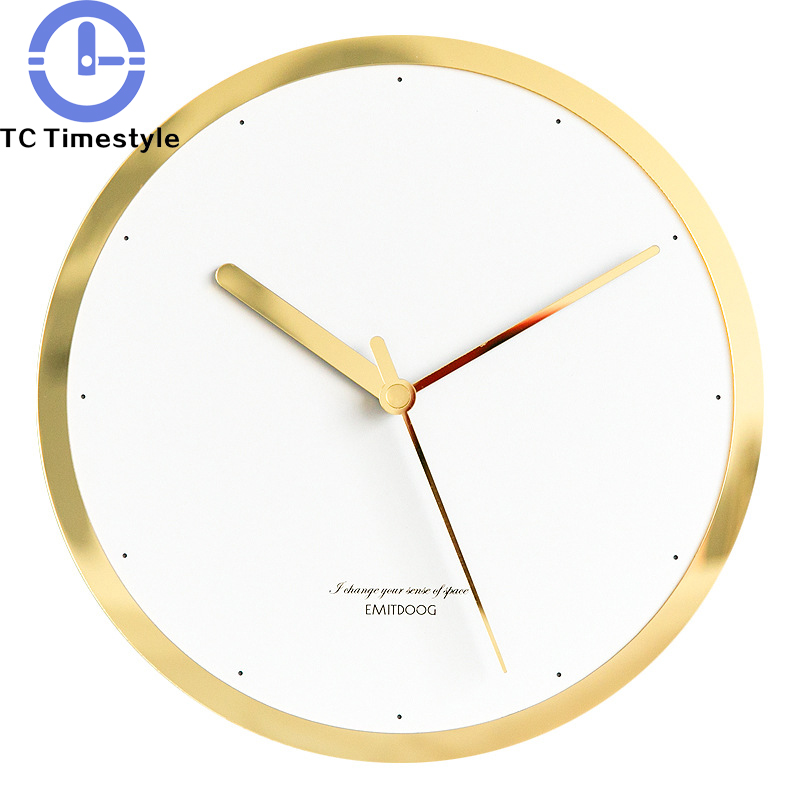Wall Clock Acrylic Modern Simple European Style Living Room Bedroom Home Decoration Watch Nordic Creative Silent Saat Wall Clock