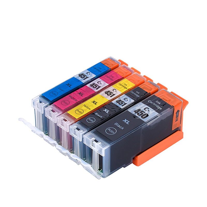 DAT compatible ink cartridge for Canon PIXMA ip7240 MG5440 MG6340 MG6440 MG7140 mg7540 Ix6540 iX6840 Ip8740 MX924 pgi450 pgi-450 profiline картридж cli 451y желтый совместимый для принтера pixma ip7240 mg5440 mg5540 mg6340 mg6440 mg7140 mx924