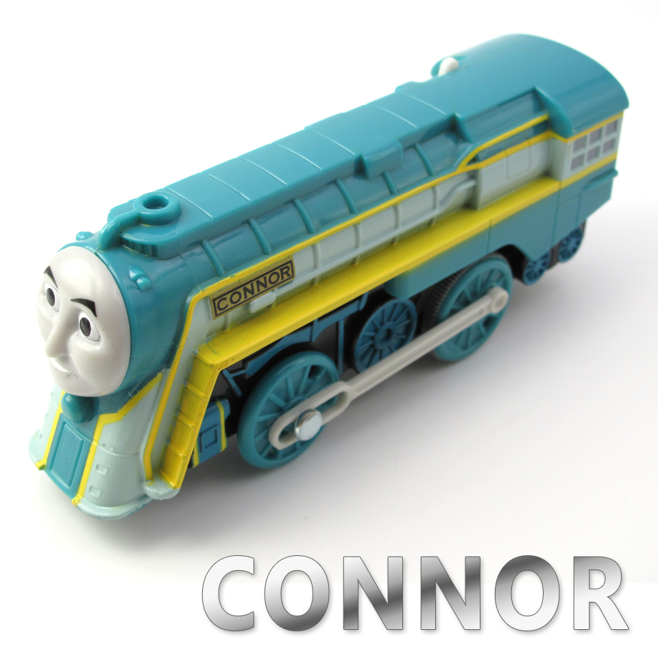 Electric Train T030E CONNOR Fit for Tomas Trackmaster Magnetic Truck Locomotive Engine Railway Toys for Boys