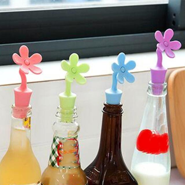 Plant Shaped Bottle Stopper