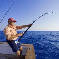 Universal Directional Stand Up Boat Fishing Rod Holder Waist Gimbal Fighting Fishing Belt Sea Fishing Accessories