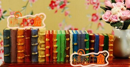 Doll house mini dollhouse furniture decoration multicolour bookcase