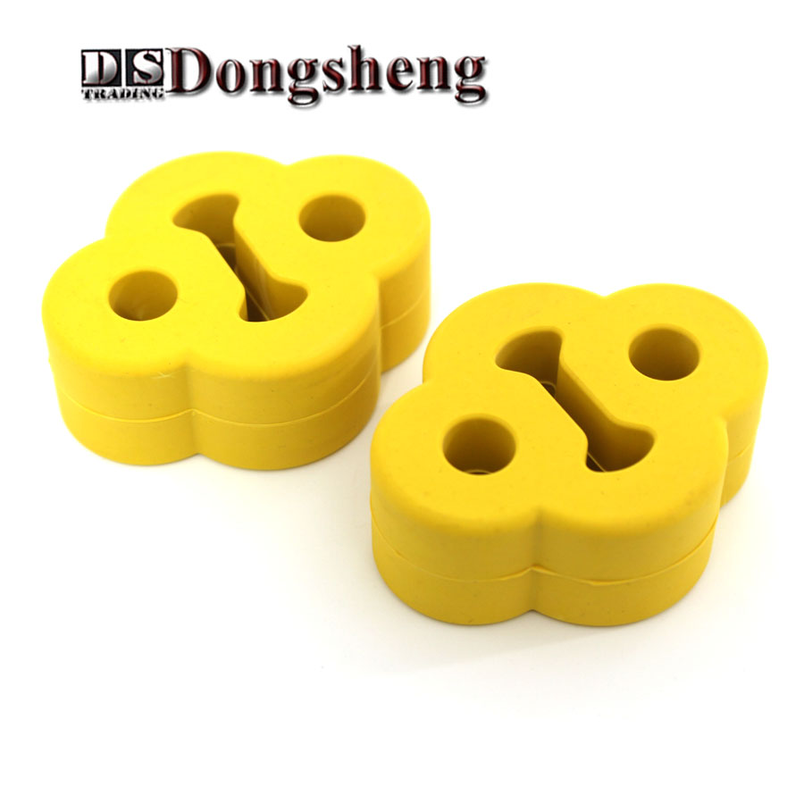 42c16cc36e 2PCS Car remoulded car general exhaust pipe hanging shackle Hanging plastic  hanging exhaust ear