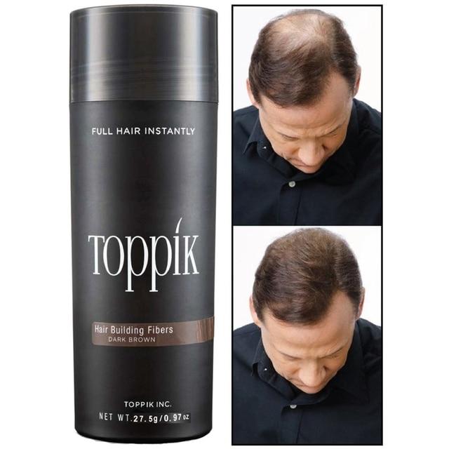 TOPPIK שיער אובדן בניין סיבי LARGE-27-5g 9 צבעים מיידי פאה לצמיחה מחודשת אבקות גרם חדש אטום למעלה