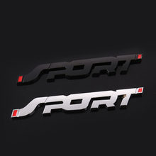 3D Metal Car Trunk Racing SPORT Decal Sticker Accessories For Peugeot 307 308 407 206 207 3008 406 208 2008 508 408 306 301 106(China)