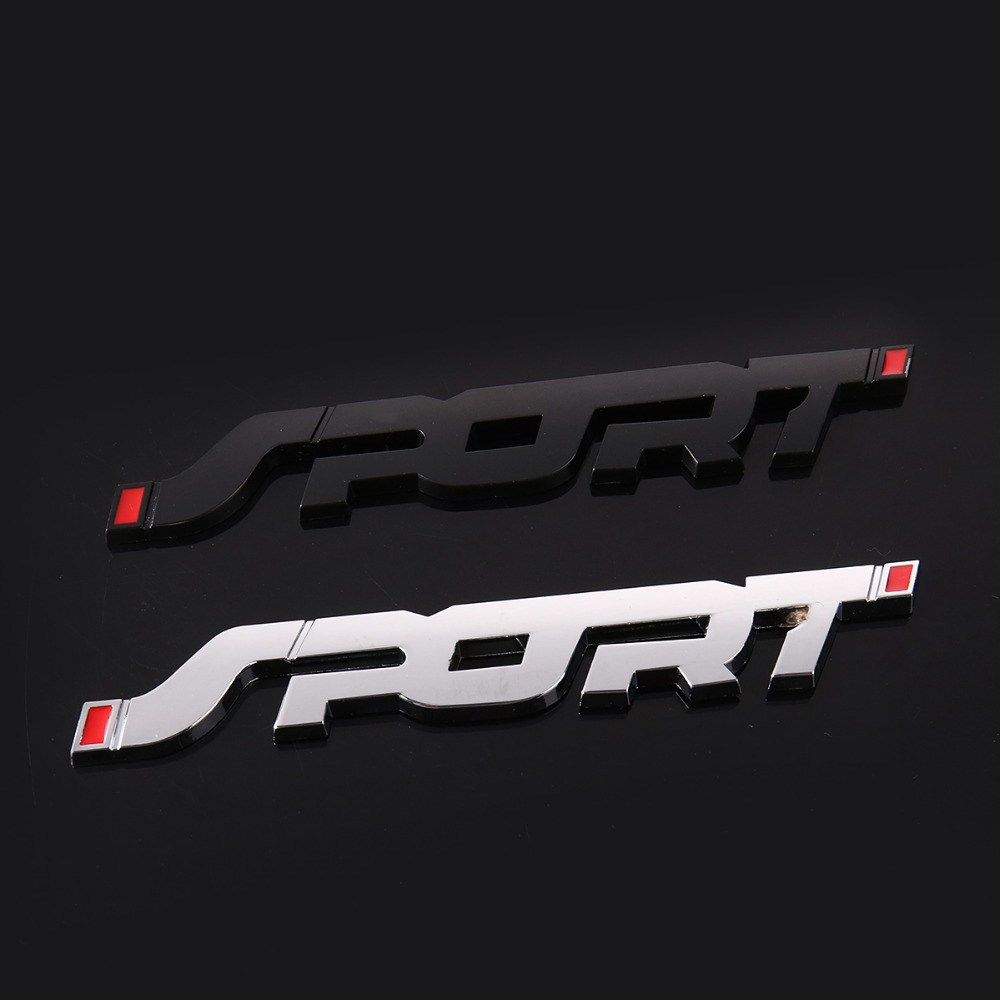 3D Metal Car Trunk Racing SPORT Decal Sticker Accessories For Peugeot 307 308 407 206 207 3008 406 208 2008 508 408 306 301 106 image