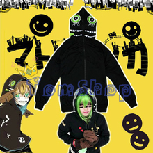 Anime Vocaloid Matryoshka Miku Len Rin Gumi przebranie na karnawał kurtka z kapturem Unisex płaszcz z kapturem na zamek bluza darmowa wysyłka