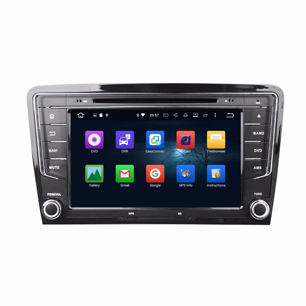 Octa Core 2 din 8″ Android 6.0 Car Radio DVD GPS for VW Volkswagen Santana 2013-2016 With 2GB RAM Bluetooth 32GB ROM Mirror-link