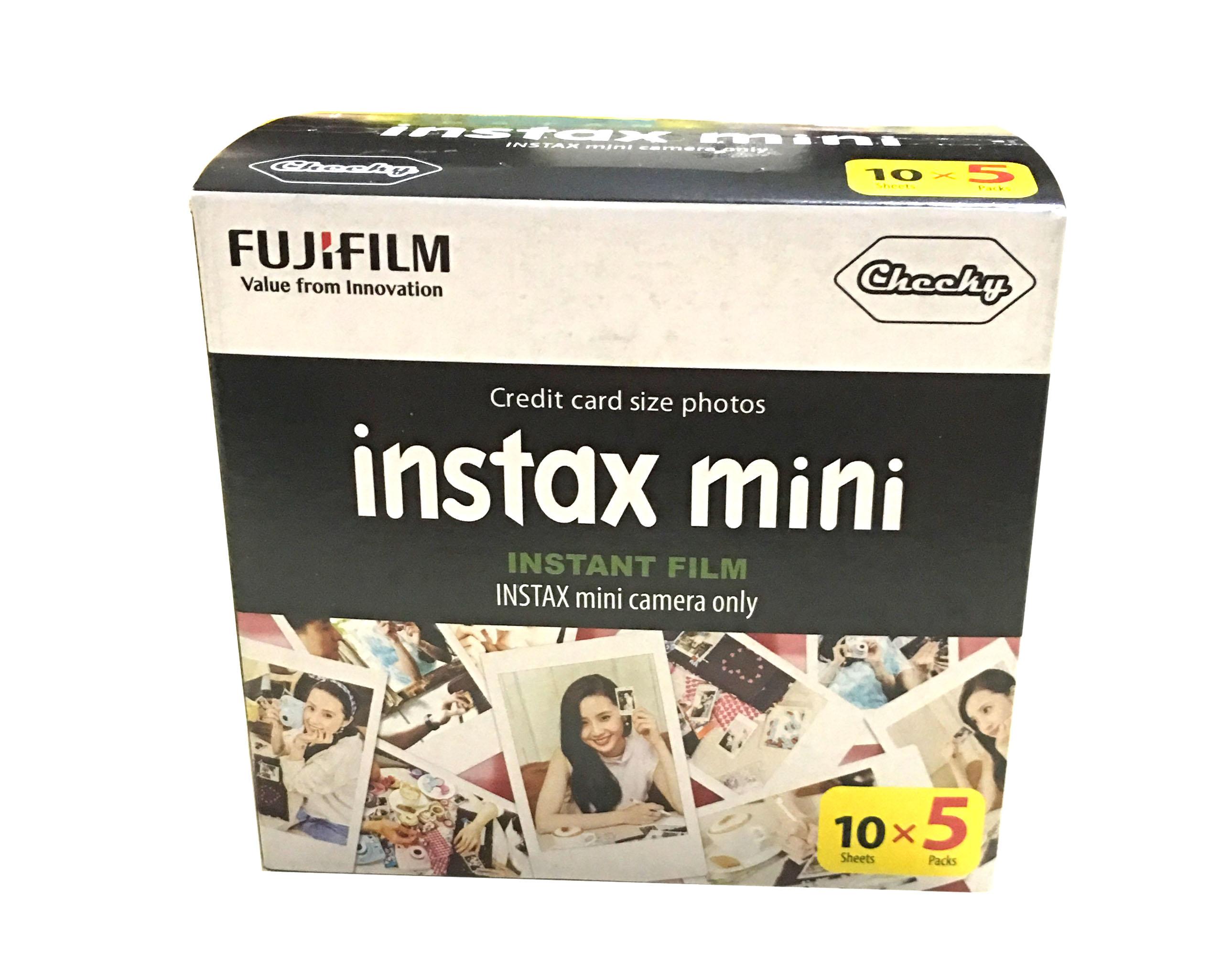 Prix pour Véritable Fujifilm Instax Mini Film Blanc Bord 50 Feuilles Pour Fuji Instax mini 8 7 s 25 50 90 SP1 Appareil Photo Instantané Photo Papier Film