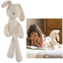 MaMas&papas Cute Bunny Rabbit Baby Soft Plush Toys Brinquedos 50CM White Cheapest Price Best Gift for Kids NTP001E