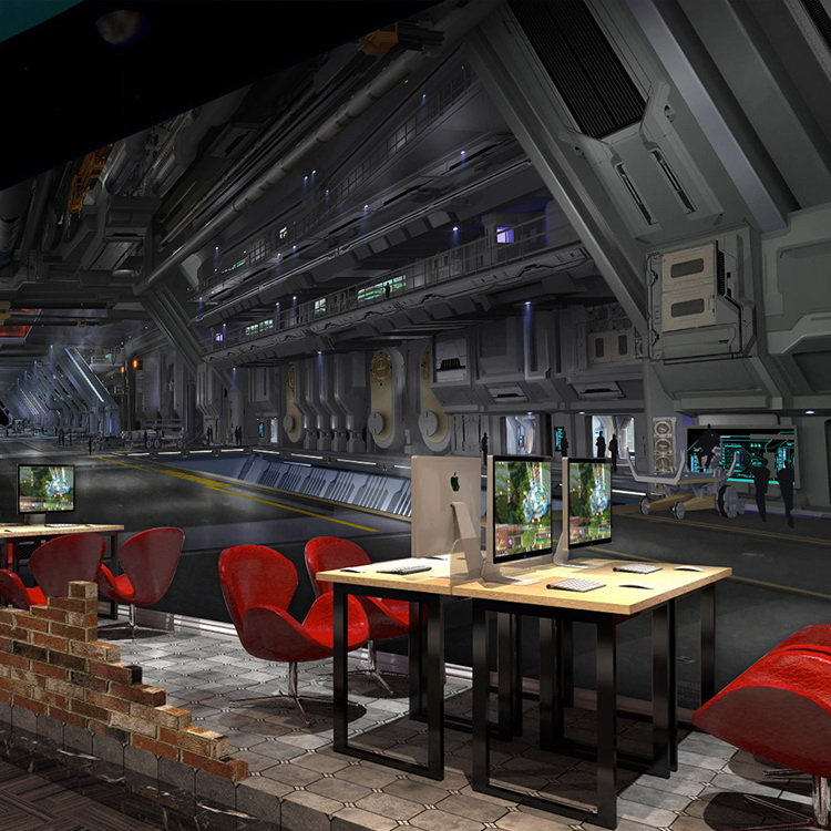 Custom Size Photo 3D Industrial style mural KTV bar Internet cafe coffee shop study decoration mechanical model wallpaper mural large mural wallpaper entrance clothing store shop decoration engineering ktv entertainment hotel cafe paintings