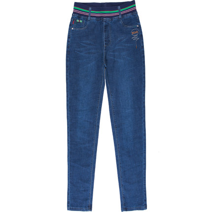 Inverno Dimensioni Pantaloni Sottile Era Nuovo A Grandi E Di Abbigliamento Delle Autunno Donne 1 Modo Jeans Vita Alta Stirata wTXPqpW