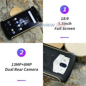 Image 3 - Blackview Bv5800 IP68 עמיד למים 5580mAh 4G 18:9 Smartphone 2GB 16GB 13MP NFC מגע מזהה נייד טלפון