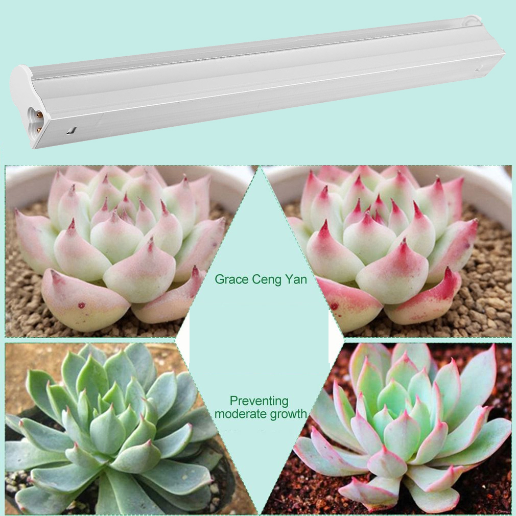 5pcs/set LED Plants Growing lightingGrow Lights Greenhouse Lamps full Spectrum T5 Tube Indoor Plant Hydroponic System