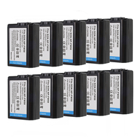 10pcs NP FW50 NP FW50 Rechargeable Battery for Sony NEX 7 NEX 5R NEX F3 NEX 3D Alpha a5000 a6000 Alpha 7 a7II A33 A35 A37 SLT A3