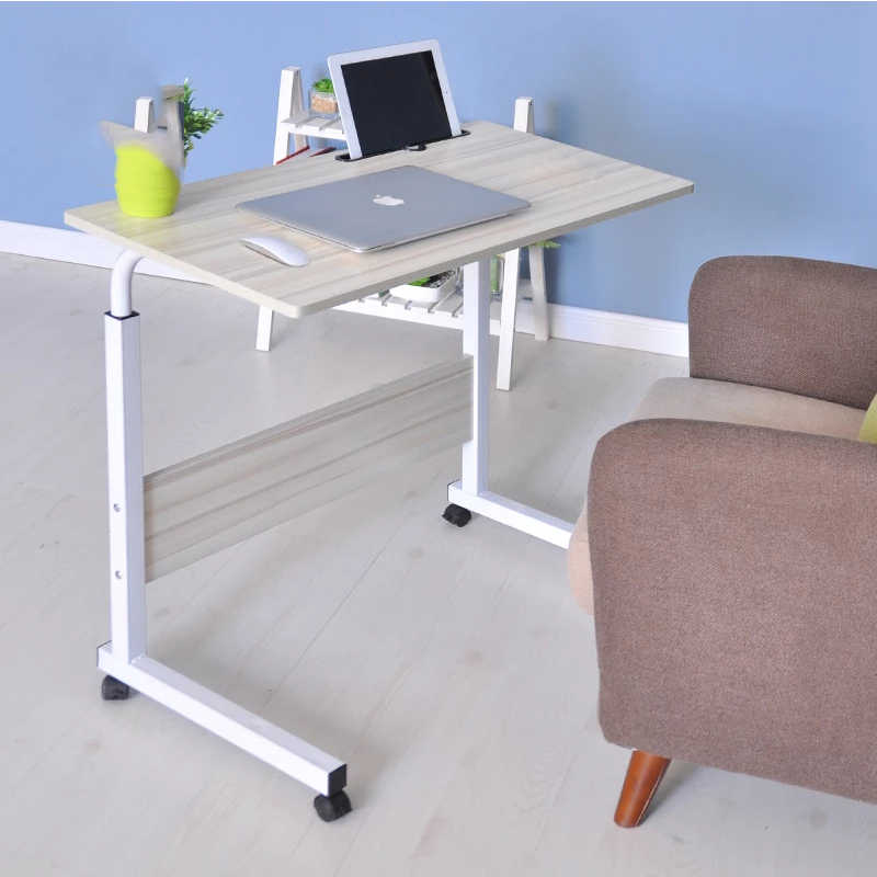 Faltbare Computer Tisch Einstellbar Tragbare Laptop Schreibtisch 80*40CM Drehen Laptop Bett Tisch kann Angehoben Stehen Schreibtisch