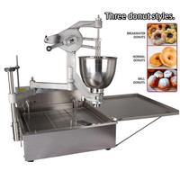 220V Semi Automatic Commercial Donut Machine Flower Donut Ring Donut Ball Donut Maker Machine Manual Electric