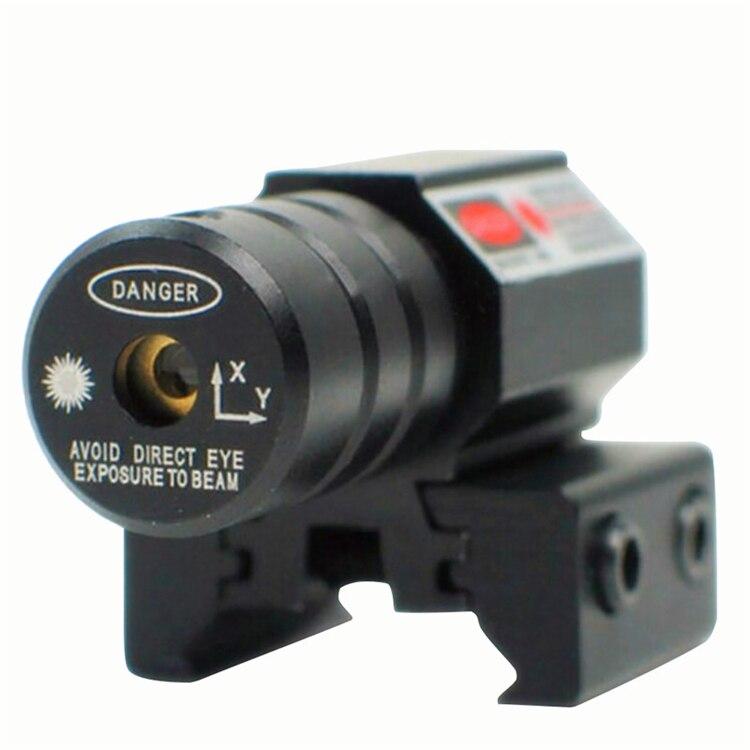 Spike JG5-1 Tactical Pistol mini 5mw ajustable mira punto rojo mira - Caza - foto 4