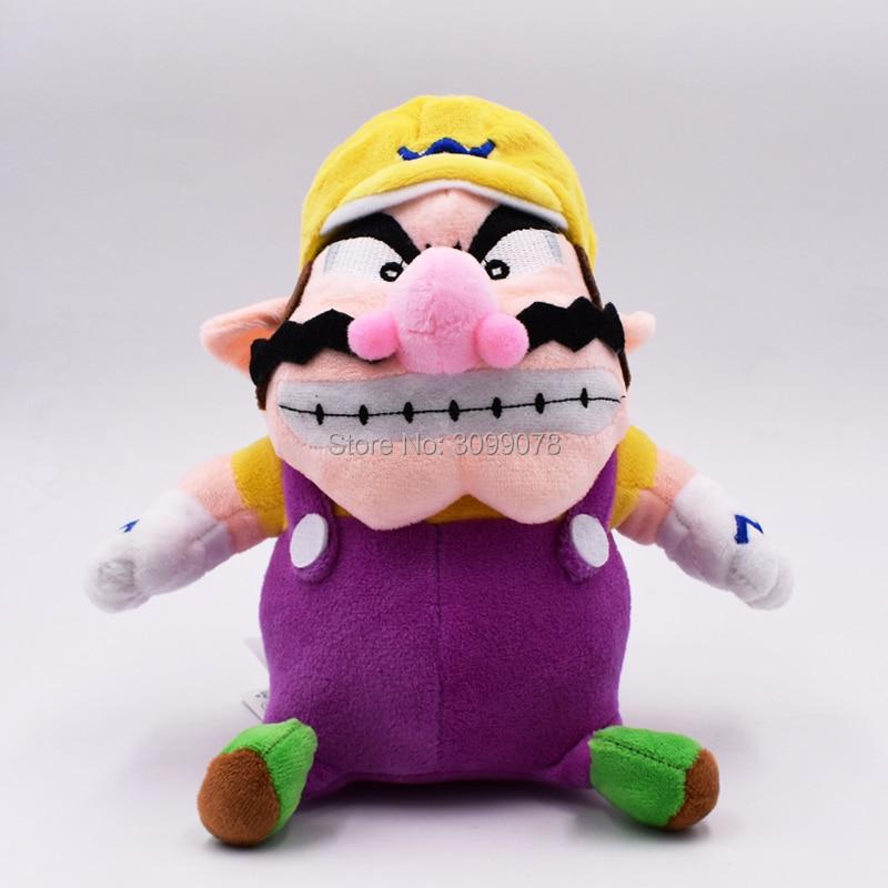 Super Mario Brothers Plush YoShi Koopa Troopa With Hammer Boomerang Wario Waluigi Goomba Mushroom Old Man Toadette Hot Toys Baby 6