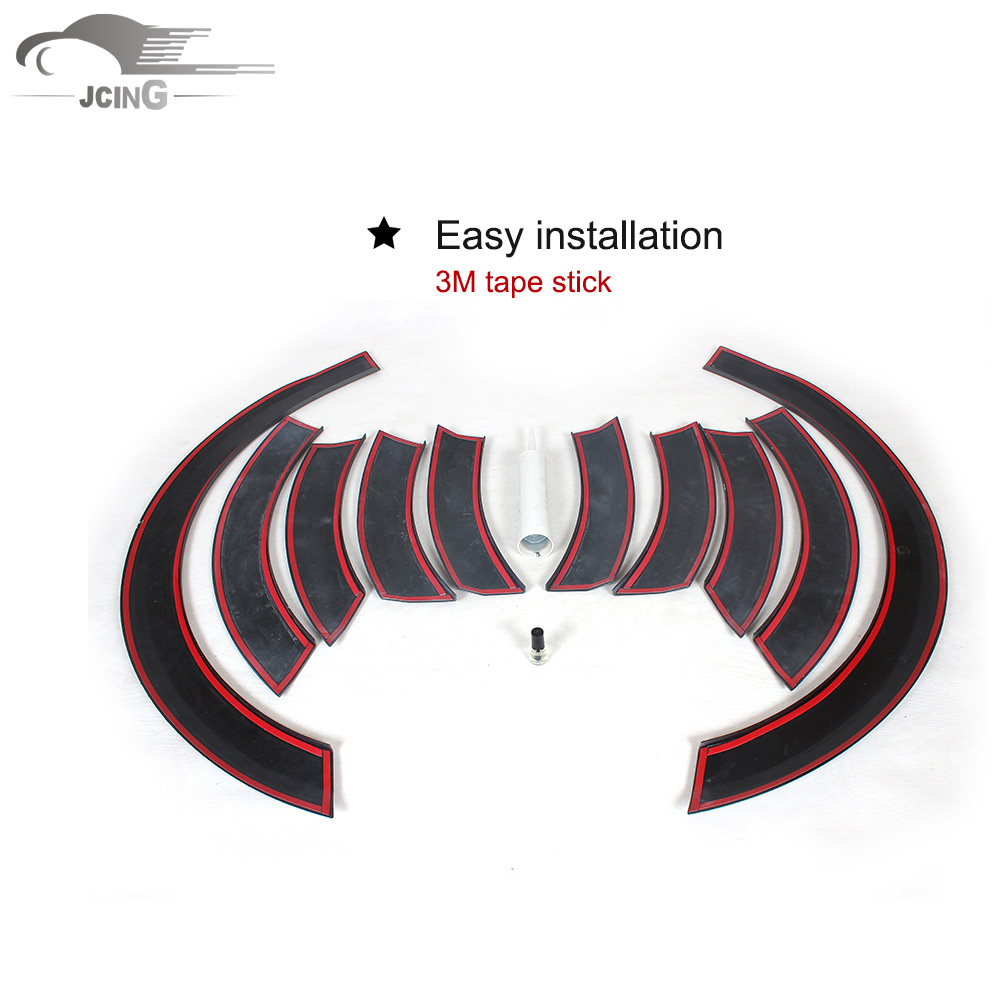 A Style Black Wide Wheel Fender Flares Covers For Audi Q5 Suv 2009 Wiring Diagram 2016 Non Sline Arch Eyebrows Mud Flaps Guard Trims In Mudguards From Automobiles
