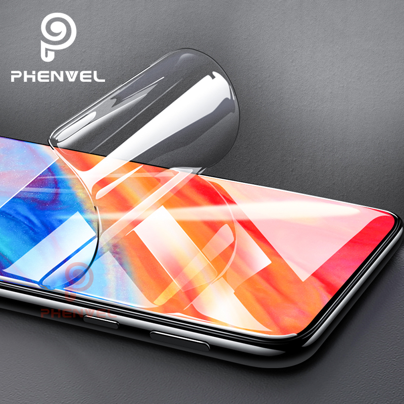 Phenvel Slim Hydrogel Film For Xiaomi Mix 2 3 Mix 2s Screen Protector Flexible Xiomi Mi Mix2 Mix2s 3D Gel Protective Film