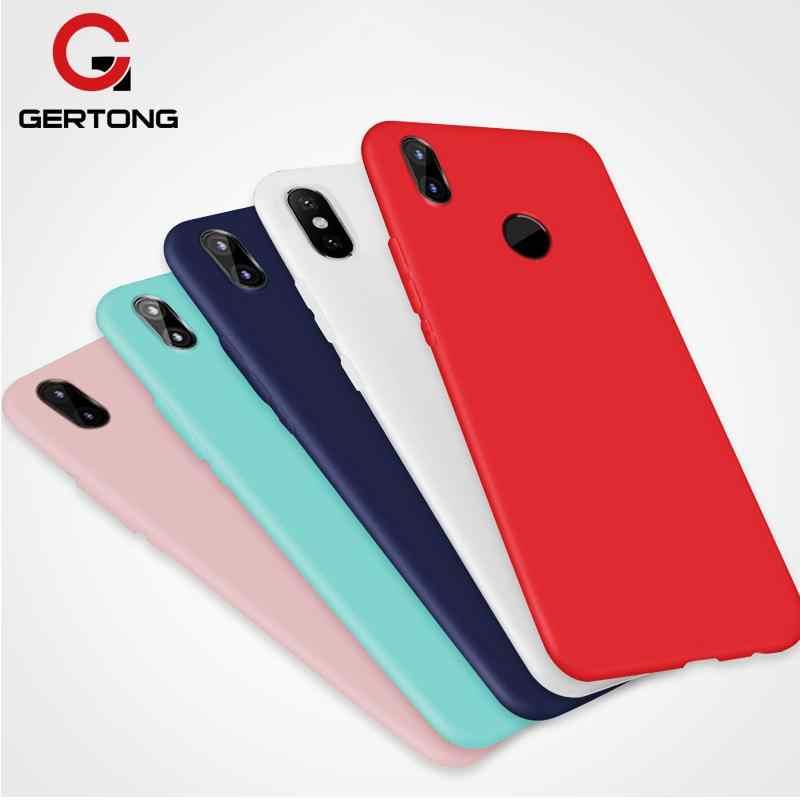 Карамельный цвет мягкий чехол для телефона для Xiaomi mi 8 Lite A2 Lite A1 mi макс 3 mi x 3 mi 8 mi 6 mi 6X mi 5X играть Pocophone F1 TPU крышка