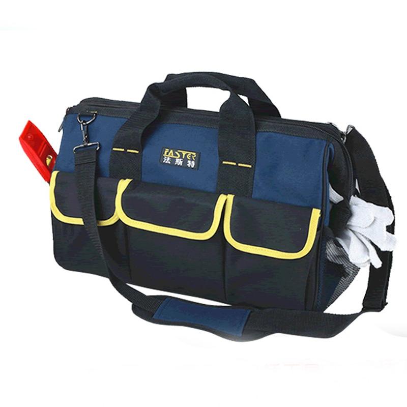 کیف دستی با کیفیت بالا 20 ox پنبه آکسفورد 19 چند منظوره ابزار جیبی کیسه ظرفیت بزرگ ابزار تعمیر حرفه ای کیسه مسنجر کیسه