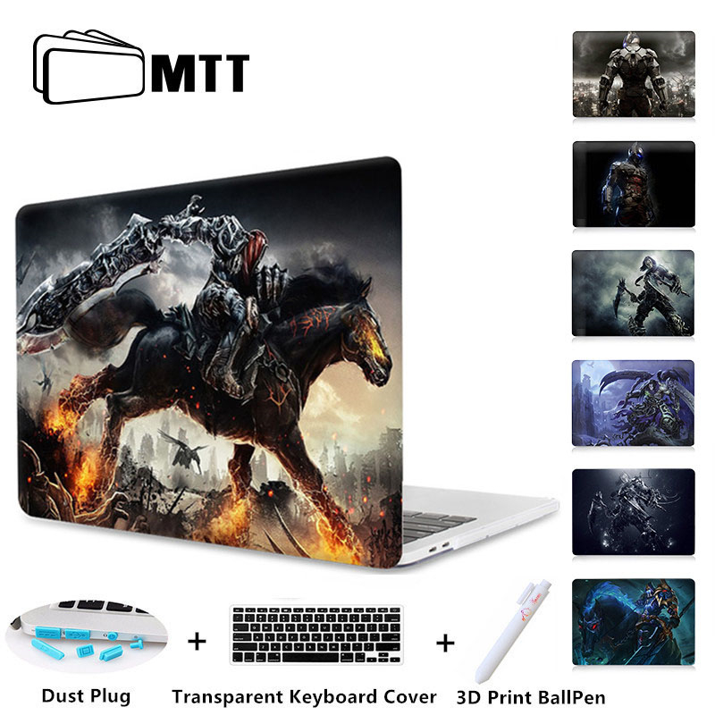 MTT Printed Hard Case Cover For Apple Macbook Pro 12 13 15 Retina Touch Bar Laptop Shell For Mac Book Air 11 12 13 A1706 A1707 for macbook new pro 13 15 touch bar laptop case for mac book air pro retina 12 13 15 creative lamp blackboard print hard cover
