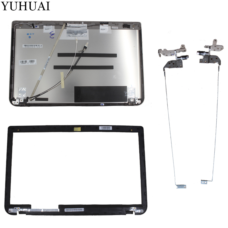 New For Toshiba Satellite P55t P55t-A LCD Back COVER TouchScreen/LCD Bezel Cover/LCD HINGES L+R for toshiba satellite p55t a5118 p55t a5116 p55t a5202 p55t a5200 p55t a5312 p50t a121 10u p50t a01c 01n touch glass screen