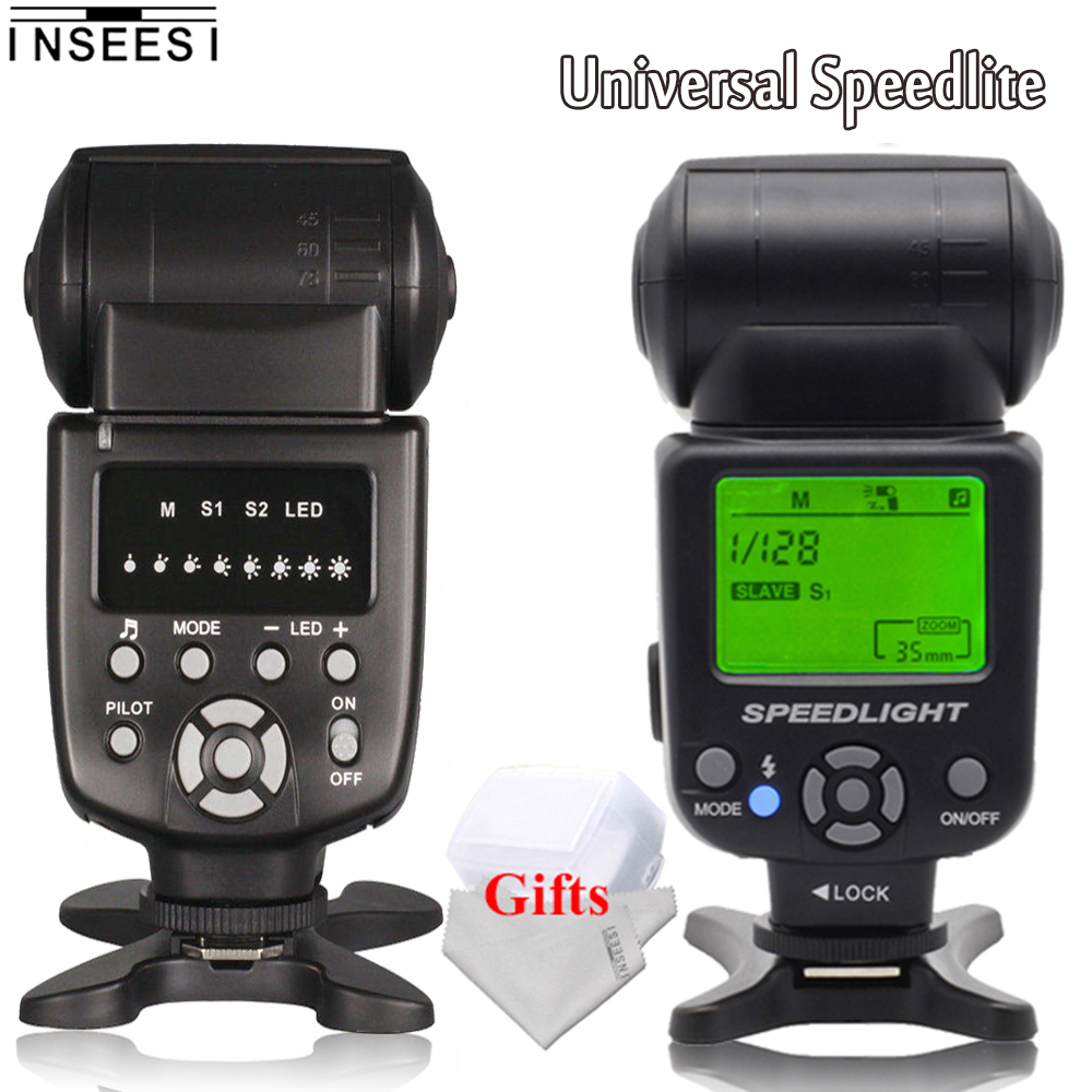 INSEESI IN560IV Camera Flash Speedlite OR IN-560IV PLUS Wireless M/S1/S2/For Canon 5D2 5D Mark II Nikon D80 D70 Pentax Sony DSLR цена
