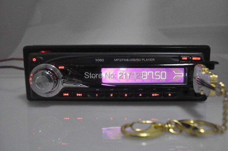 Новинка автомобиль радио плеер Съемная передняя панель MP3 FM/USB/SD/1 Din/пульт дистанционного управления/USB порт 12 V автомобильная аудиосистема Steoro автомобильный MP3