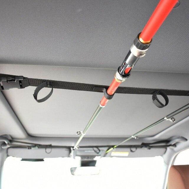 VRC удочка для автомобиля, держатель для удочки с ремнем и подтяжками для галстука, рыболовные аксессуары, доставка из США