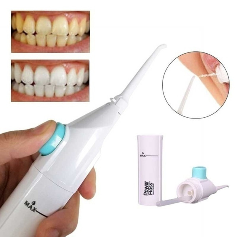 US $4 97 30% OFF|Portable Teeth Power Floss Dental Care Teeth Whitening  Floss Oral Irrigator Water Jet Cords Tooth Pick Braces Cleaning  Irrigator-in