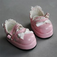 [wamami] 1/6 Pink Bow Lace BJD SD DOD AOD Dollfie Doll Shoes