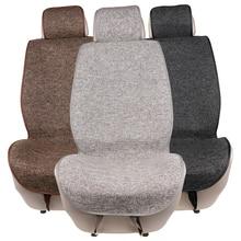 1 шт.. автомобильное сиденье Подушка коврик может машинная стирка/искусственное белье одинарные авточехлы подходит для большинства автомобилей Грузовик внедорожник или фургон