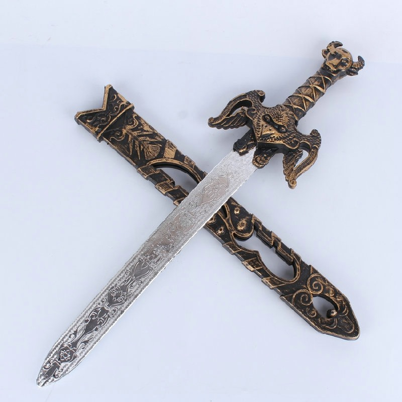 People Dress Accessories العاب اطفال محاكاة سلاح البلاستيك Sword Knight 8-11 Years Children Toys Sword Movie & Tv
