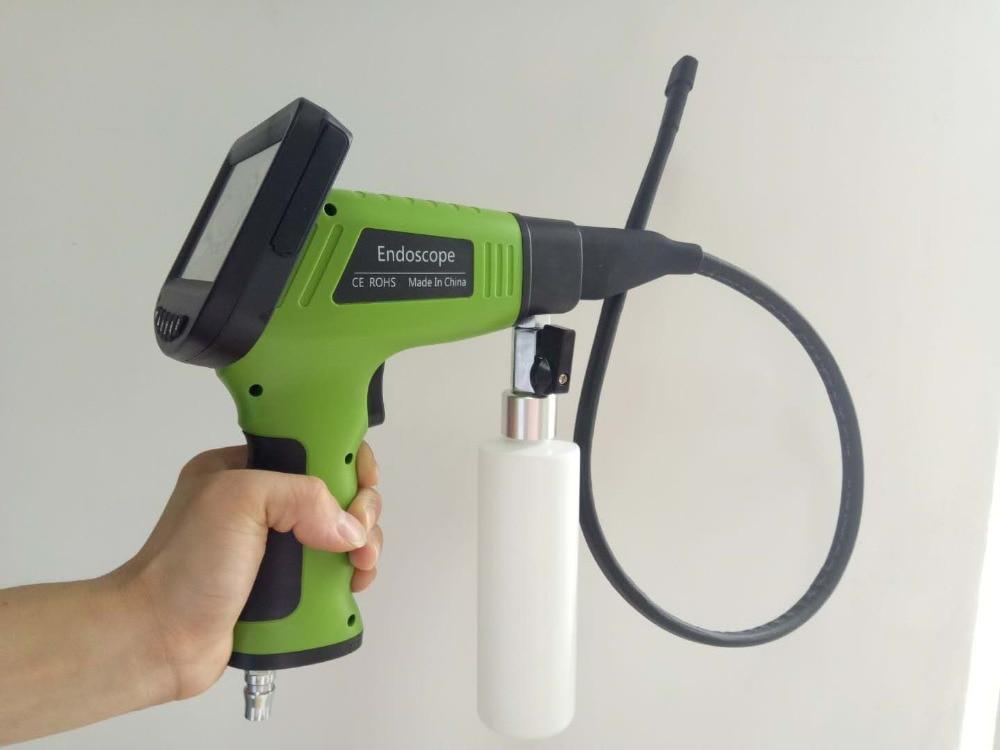4.3 Inch  Monitor Detachable Car Air Conditioner Evaporator Visual Cleaning Borescope AV Spraying Handheld Endoscope Camera