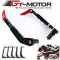 "GT motoo - Aluminum Protector Handlebar Brush Motorcycle Proguard Brake Clutch Levers Protect Guard Handgrip Guard 7/8"" 22mm"
