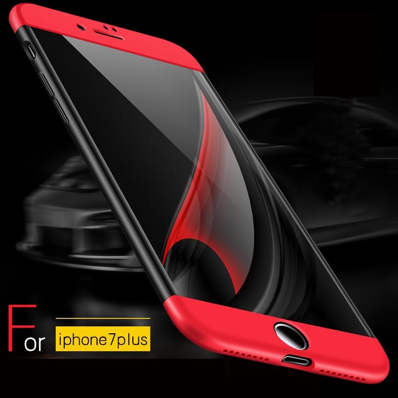 Vpower plná ochrana pro pouzdro iPhone 7 Capas iPhone 7 Plus - Příslušenství a náhradní díly pro mobilní telefony