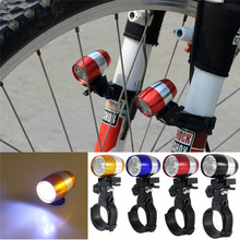 Bicycle Front Led Lights Waterproof Ultra Bright 6 LED Bicycle Bike Front Head Light Aluminium Alloy Safety Cycling Flashlight цена