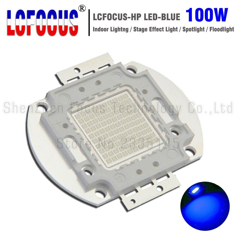 High Power LED Chip 100W Blue 460-465nm COB Diode SMD For DIY 100W 200W 300W 500W Spotlight Stage Light Floodlight