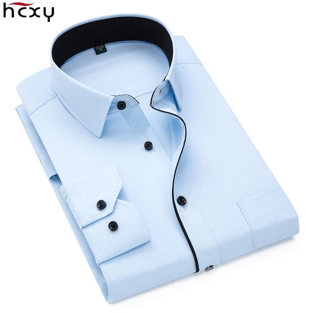 Oferta Hcxy 2019 Camisas De Carga Para Hombre Camisa Vestir
